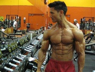 Male at 5 percent body fat