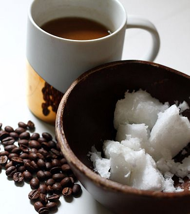Coconut Oil and Coffee
