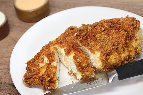 Low Carb Crispy Fried Chicken