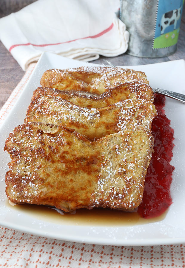 Keto Pumpkin Spiced French Toast | Shared via www.ruled.me