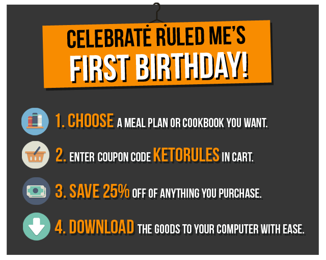ruledme firstbirthday banner