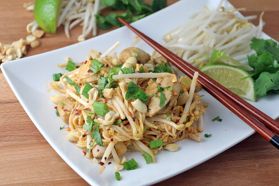 Keto chicken pad thai ruled me for Healthy chicken pad thai