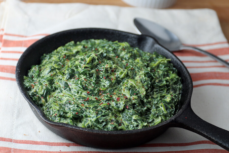 Easy Keto Creamed Spinach | Ruled Me