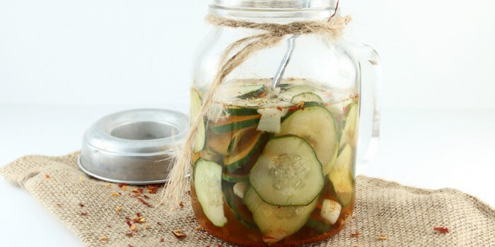 Fire and Ice Pickles