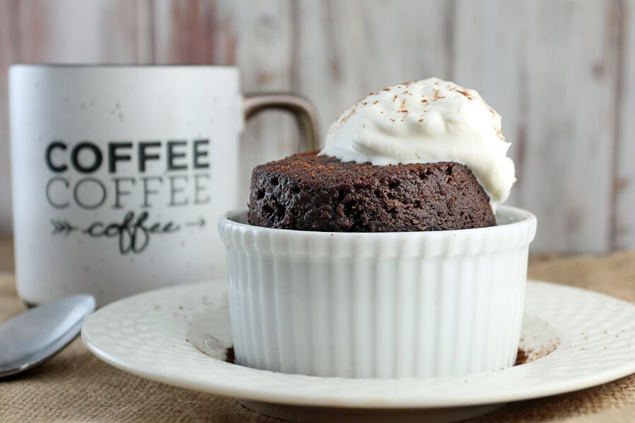 Keto Chocolate Cake in a Mug | Ruled Me