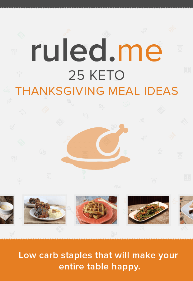 25 Simple Thanksgiving Meal Ideas that will get you through the Holiday! Shared via http://www.ruled.me/