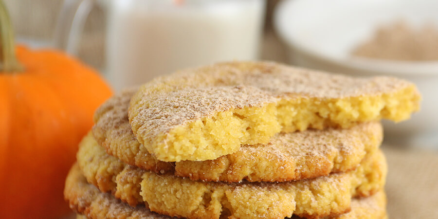 Keto Pumpkin Snickerdoodle Cookies | Ruled Me