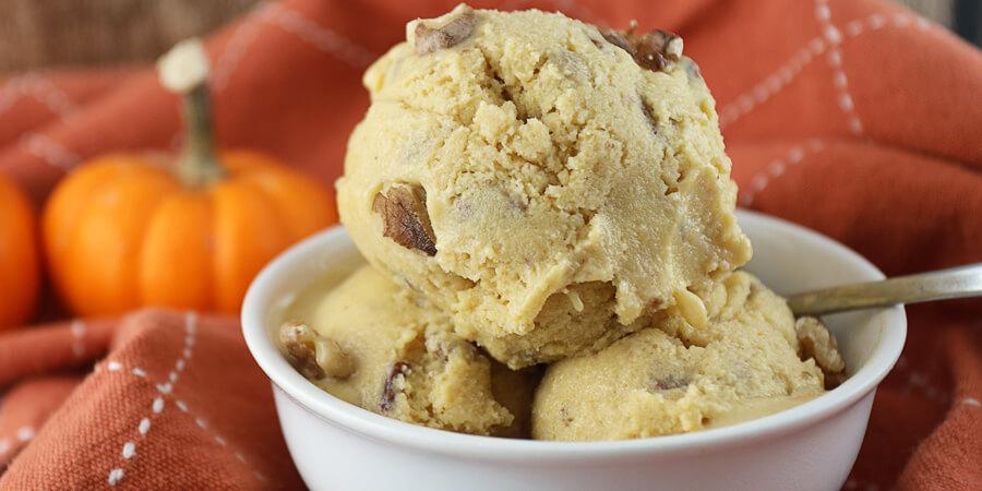 Pumpkin Pecan Pie Ice Cream | Ruled Me