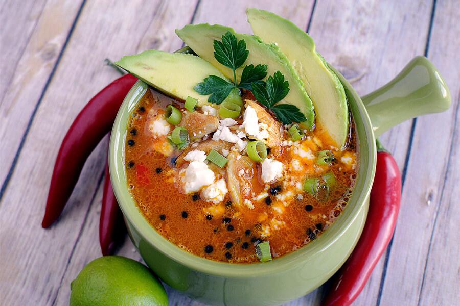 Keto Hot Chili Soup