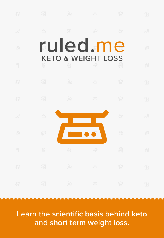 A great article that shows short-term weight loss results of a ketogenic diet. Shared via http://www.ruled.me/