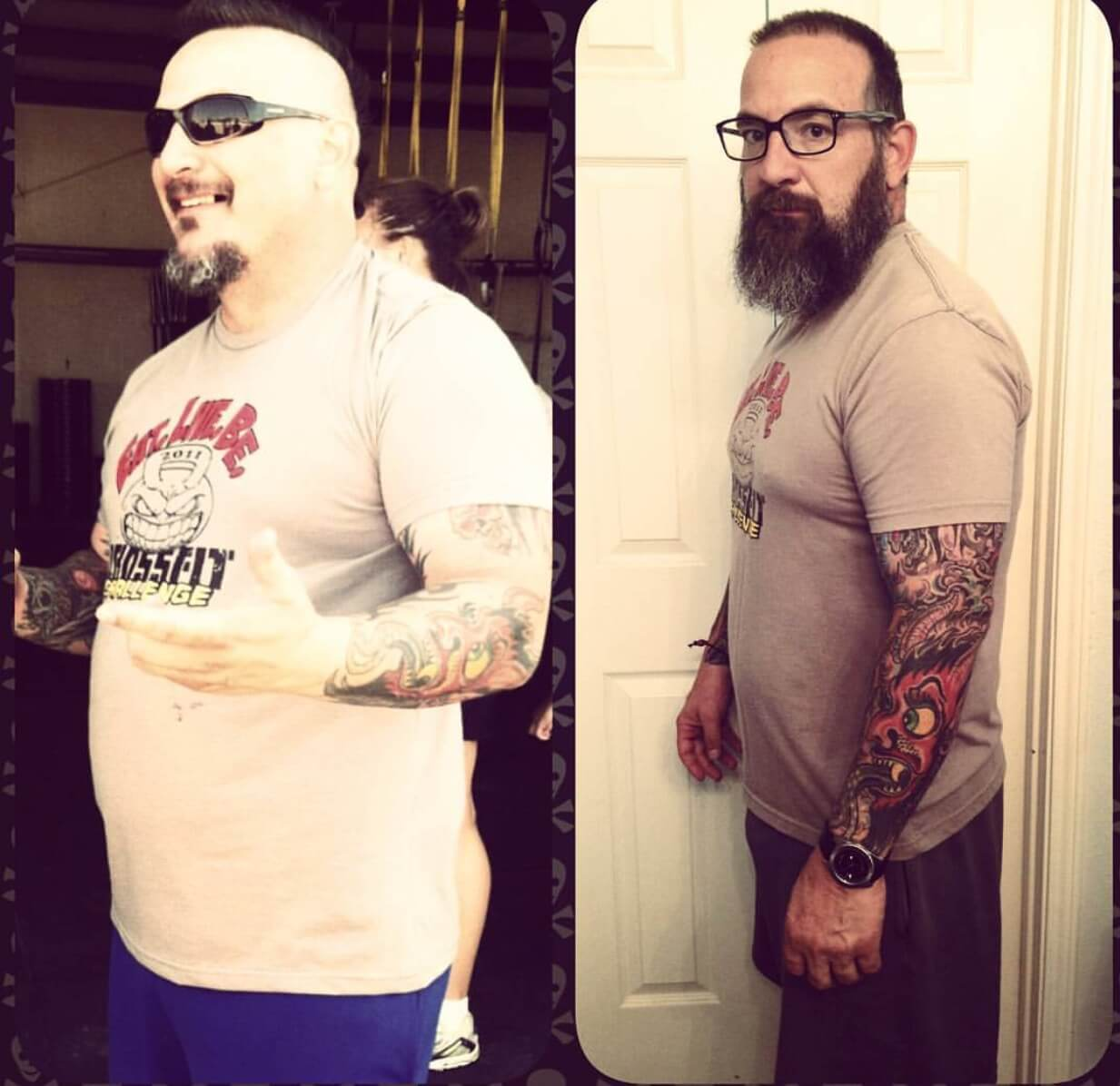 Rodney McElyea Lost 48 lbs