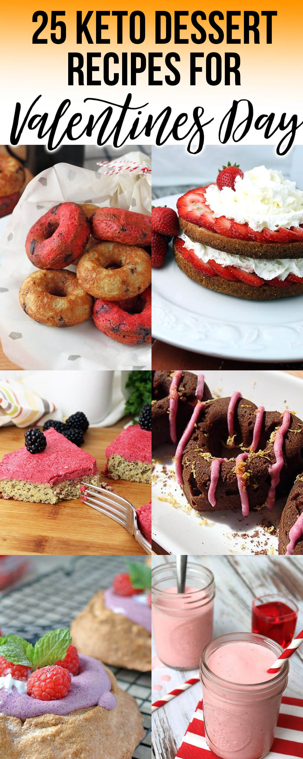 Desserts for a Keto Valentines Day!