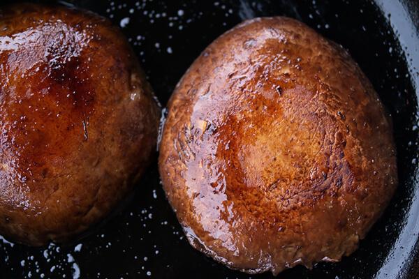 Vegan Portobello Steaks with Avocado Salsa