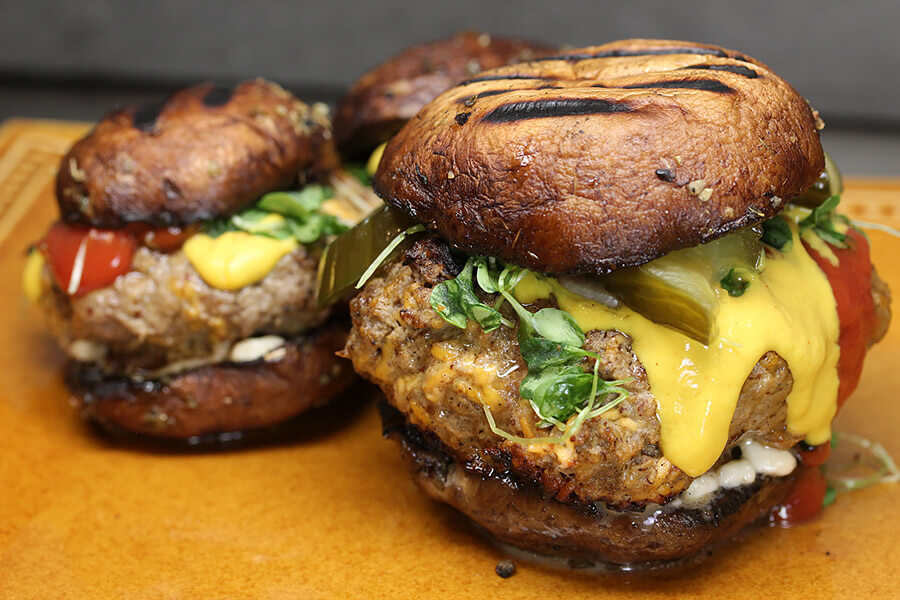 Portobello Mushroom Burger Bun Recipe Guilt Free
