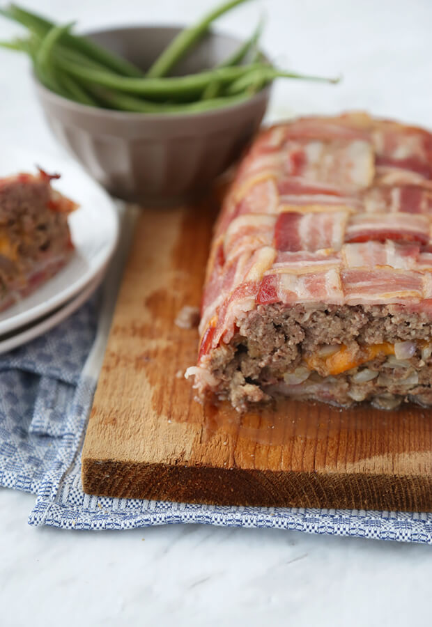 Low Carb Bacon Meatloaf