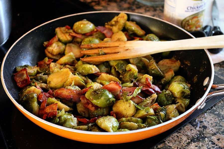Garlic And Bacon Brussels Sprouts Ruled Me