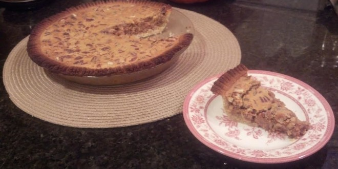 Second pecan pie