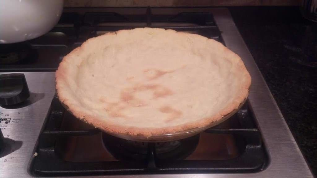 pie crust cooked