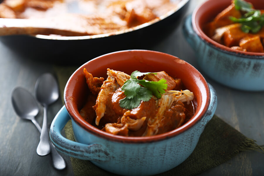 Butter Paneer Chicken Curry