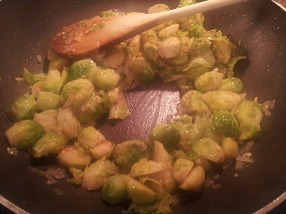 Sprouts have absorbed fats and liquid