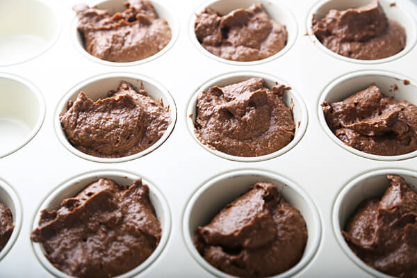 Low Carb Chocolate Brownie Cupcakes