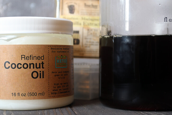 coconut oil mct coffee