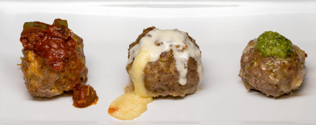 Italian Sausage & Pepperjack Meatballs