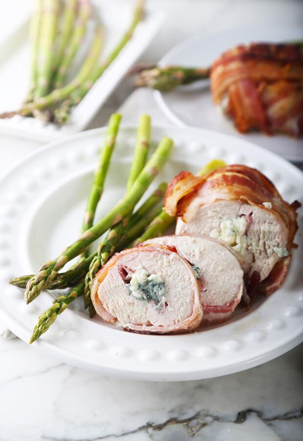 how to make chicken cordon bleu with bacon