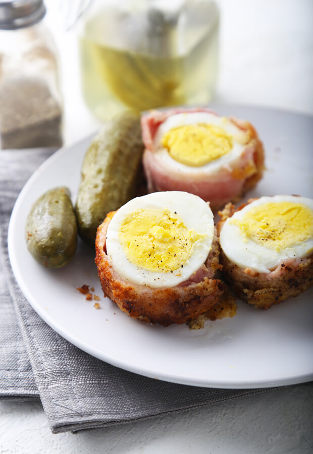 Bacon Wrapped Scotch Eggs