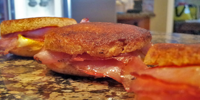 Keto Bites: Grilled Ham & Cheese