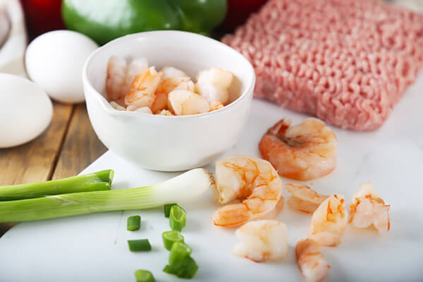 Keto Bites: Asian Pork & Shrimp