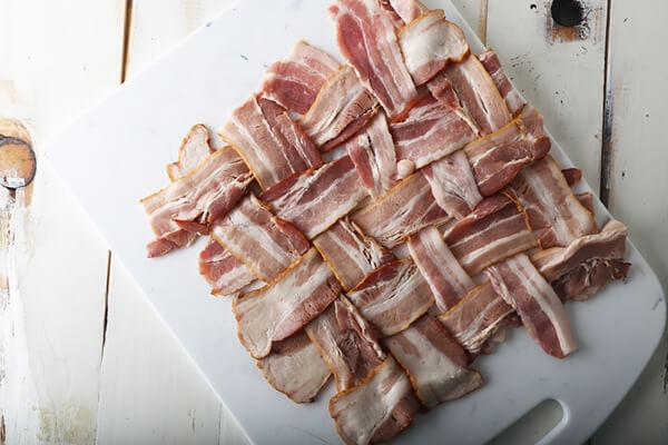 Crispy Stuffed Bacon Baskets