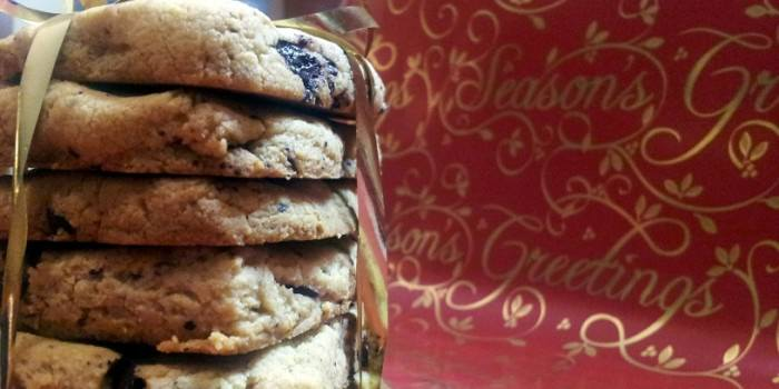 Keto Orange & Chocolate Chunk Cookies