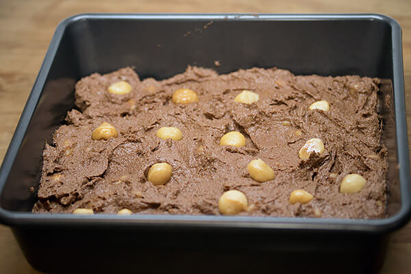 Macadamia Nut Brownies