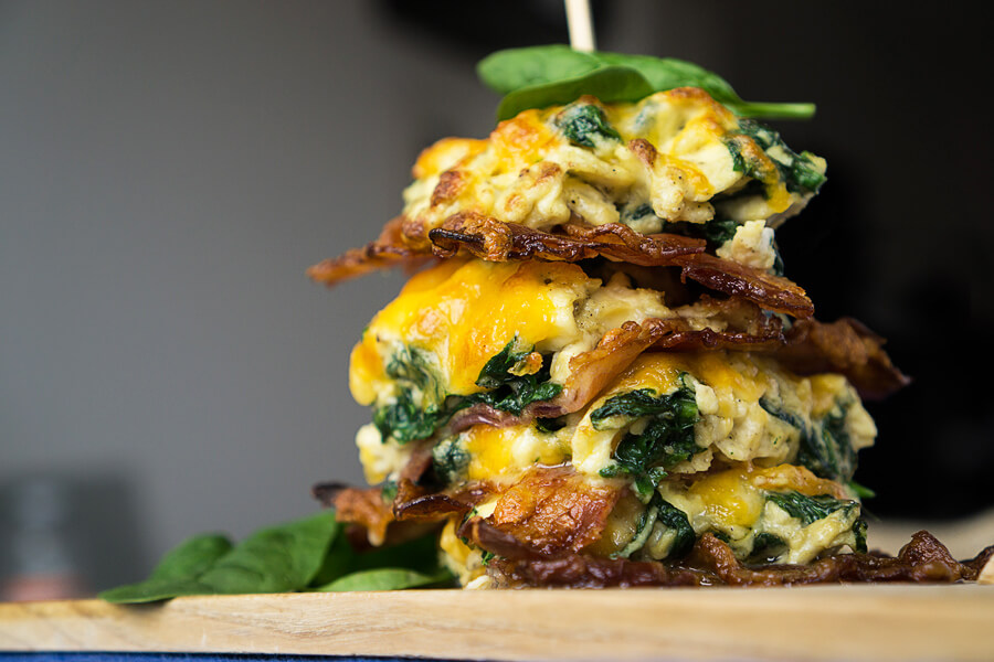Low Carb Breakfast Stax