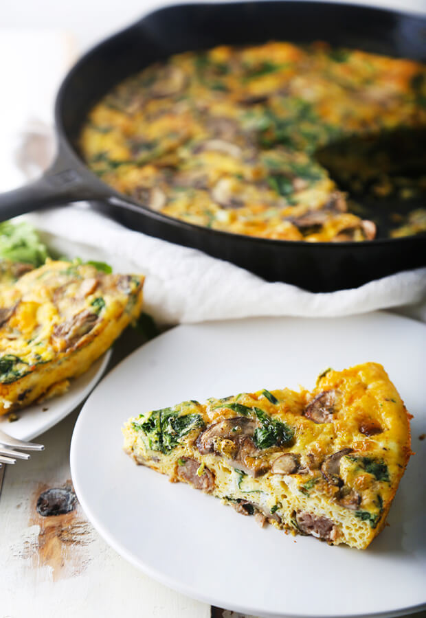 Cast Iron Kitchen Sink Frittata