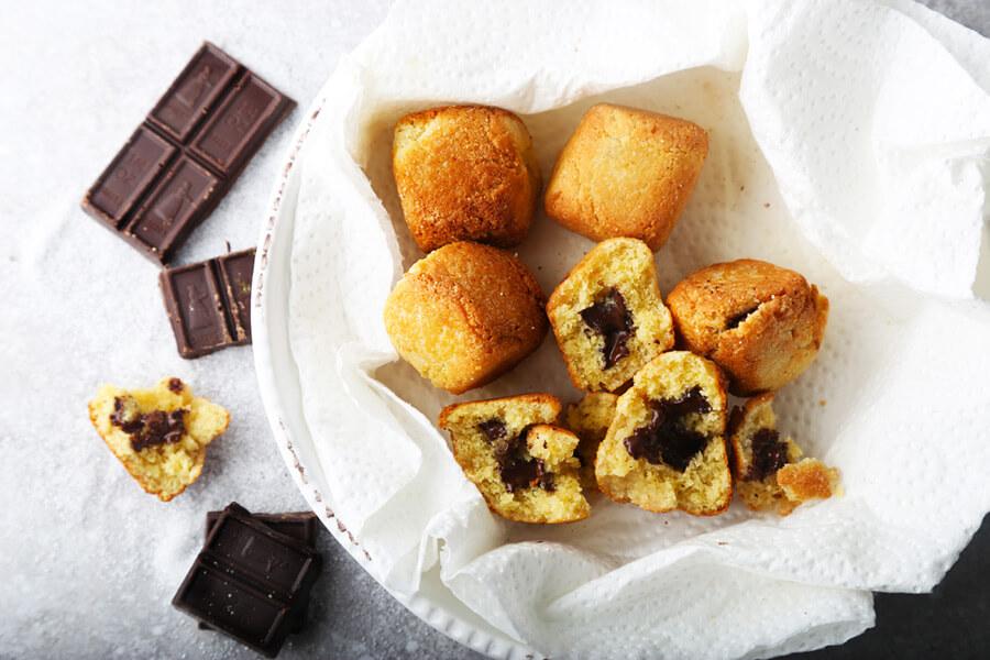 Fried Cookie Dough Balls