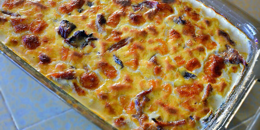 Keto Ham and Cheese Bake