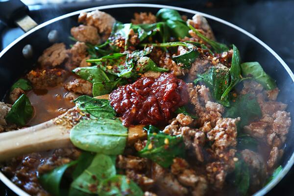Keto Style Szechuan Chicken