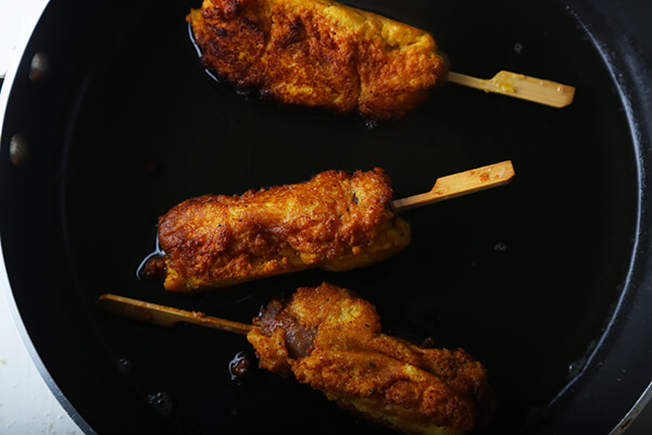 Low Carb Corndogs