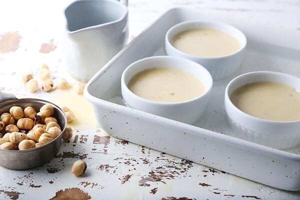 Macadamia & Coconut Keto Custard