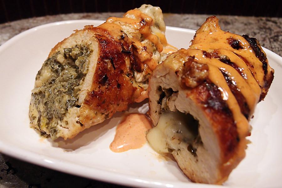 Chicken Pesto Roulade - Shared via www.ruled.me