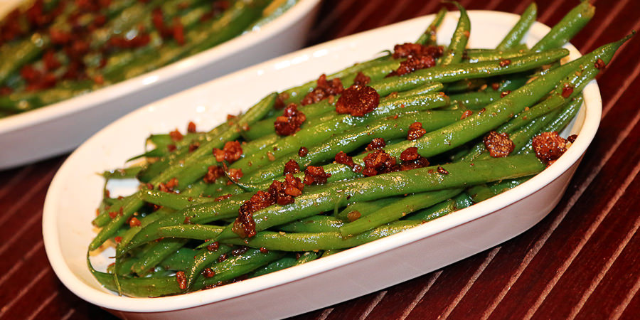 Bacon Jammin' Green Beans - Shared via www.ruled.me