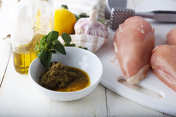 Chicken Pesto Roulade