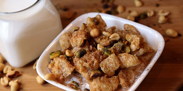 Salted Caramel Pork Rind Cereal