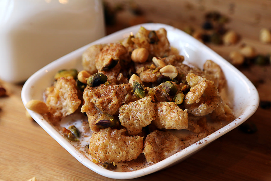 Salted Caramel Pork Rind Cereal - Shared via www.ruled.me