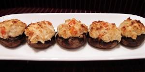 Loaded Stuffed Mushrooms