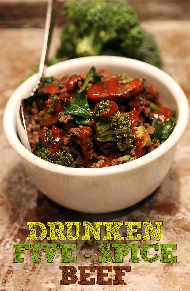 Drunken Five Spice Beef | Shared via www.ruled.me