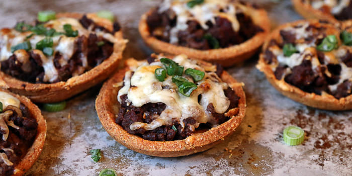 Low Carb Taco Tartlets
