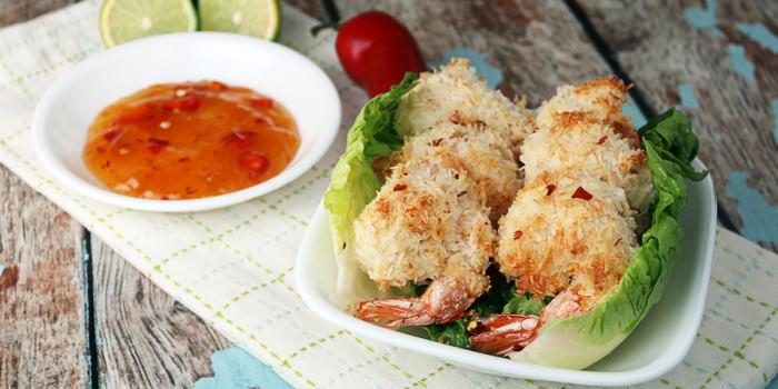 Low Carb Coconut Shrimp